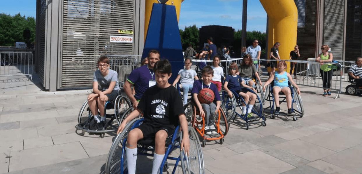 Permettre aux personnes en situation de handicap moteur/sensoriel de pratiquer une activité physique et sportive